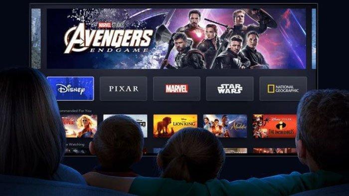 Ilustrasi paket internet murah Telkomsel untuk streaming film-film Disney