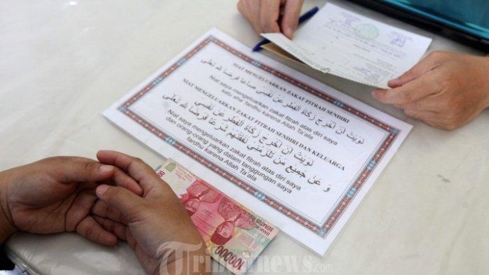 Jelang Idul Fitri Minggu 24 Mei 2020, Ini Niat dan Doa Zakat Fitrah untuk Diri Sendiri dan Keluarga
