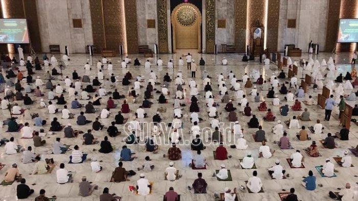 Contoh Khutbah Idul Fitri 2021 Apabila Melakukan Sholat Ied Sendiri di Rumah