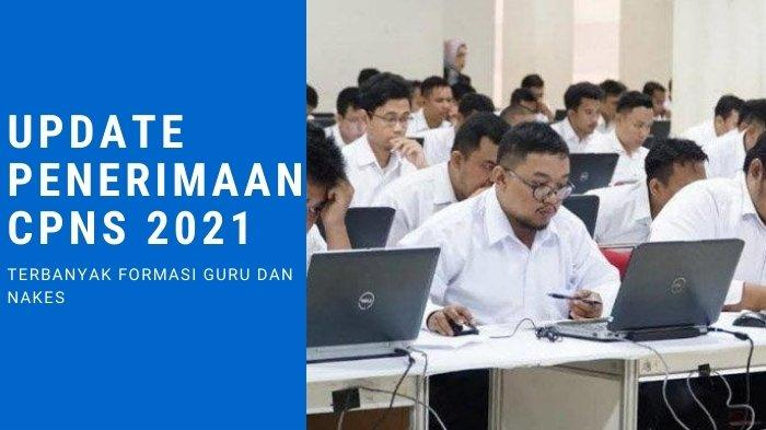 ILUSTRASI Update penerimaan CPNS 2021