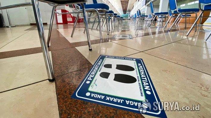 Jelang Idul Fitri, Bandara Juanda Tetap Jalankan Protokol Kesehatan di Tengah Operasional Terbatas