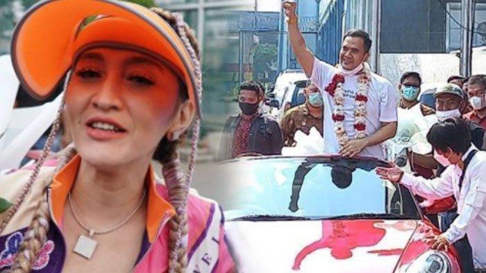 Indah Sari tak merasa bersalah telah menjemput Saipul Jamil dengan mobil mewah dikalungi bunga. Berikut ini profil dan biodatanya.