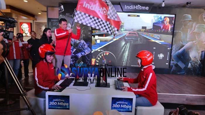 Sasar Pemain Game Online, PT Telkom Indonesia Meluncurkan IndiHome Paket Premium