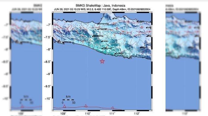 Gempa Yogyakarta Terasa Hingga Kediri, BPBD Belum Terima Laporan Kerusakan