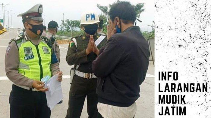 Info Larangan Mudik Jatim: Modus Pemudik di Ngawi Kelabui Petugas, Penyekatan Jaring Ratusan Warga