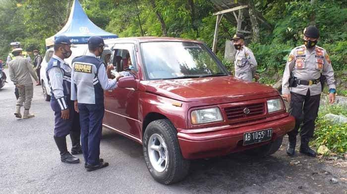 Info Larangan Mudik di Jatim - 3.169 Kendaraan Dipaksa Putar Balik dari 9 Titik Perbatasan Provinsi