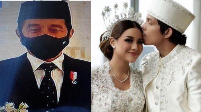 Selain Atta-Aurel, Ini 4 Pernikahan Artis yang Dihadiri Presiden Jokowi, Ada yang Heboh Ajak Selfie