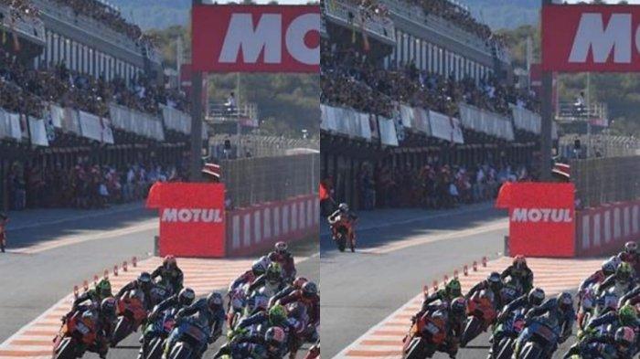 Inilah Fungsi Tanda Merah Putih di Tikungan Sirkuit MotoGP, Simple Tapi Penting Bagi Pebalap