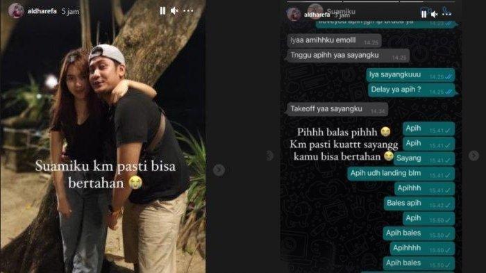 Pesan Terakhir Pramugara Sriwijaya Air SJ 182 ke Istri Sebelum Take Off, Bagikan Momen Romantis
