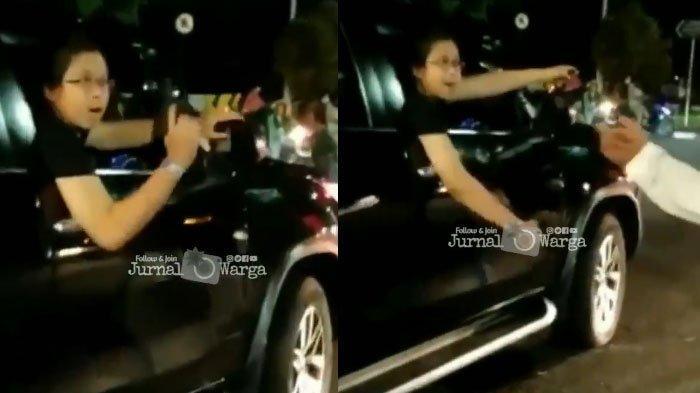 Inilah sosok pengemudi Fortuner yang acungkan pistol seusai menabrak 2 wanita pengendara motor.
