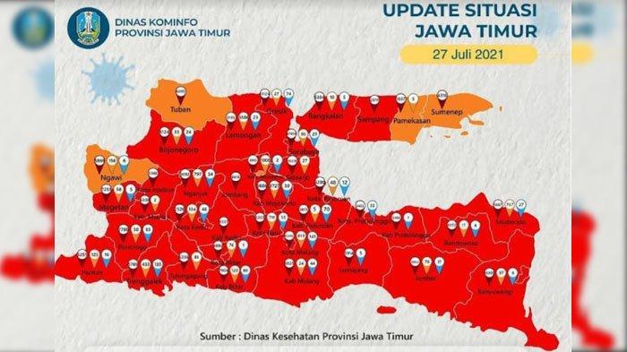 Kabupaten Tuban Zona Orange Sebaran Covid-19, Satgas Beberkan Indikator Keberhasilan
