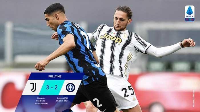 Hasil dan Klasemen Liga Italia - Juventus Masuk Liga Champions Usai Permalukan Inter Milan