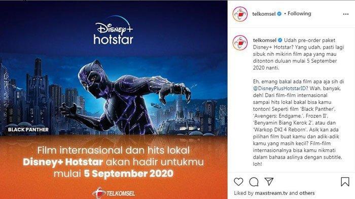 Cara Beli Kuota Internet Murah Telkomsel 3 GB Cuma Rp 15 Ribu, Streaming Film Disney Sepuasnya