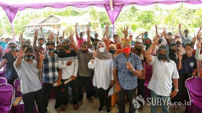Kunjungi Ujung Selatan Banyuwangi, Ipuk Optimalkan Pembangunan Insfrastruktur Jalan