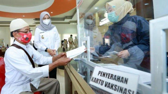Kabupaten Banyuwangi Kebut Vaksinasi Covid-19 Ribuan Calon Jemaah Haji