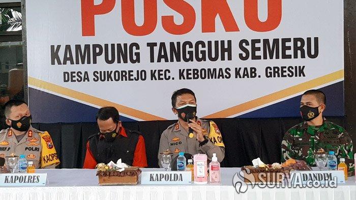 Kunjungi Kampung Tangguh Semeru di Gresik, Kapolda Jatim Irjen Nico Afinta Sarankan Lomba Prokes