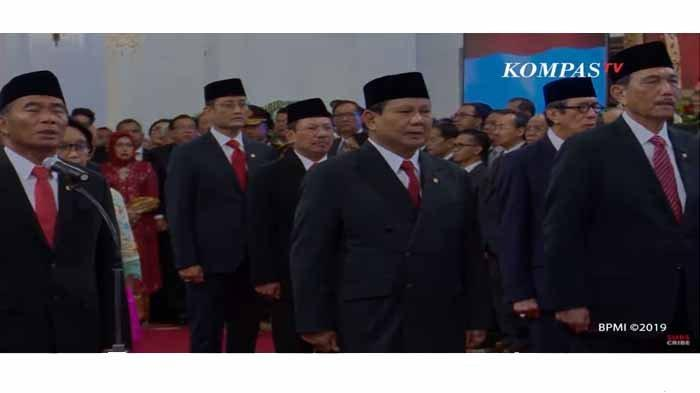 Ini Daftar 17 Menteri yang Tambah Kaya Selama Masa Pandemi, Menteri Trenggono Paling Tinggi