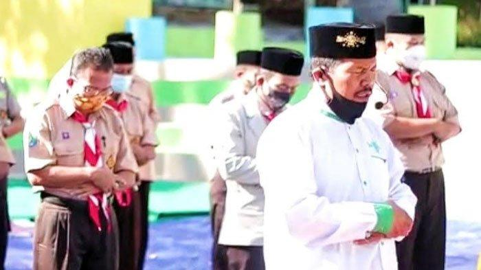 Hormati Jasa Kru KRI Nanggala 402, Kwartir Pramuka Purwodadi Gelar Istighosah dan Doa Bersama