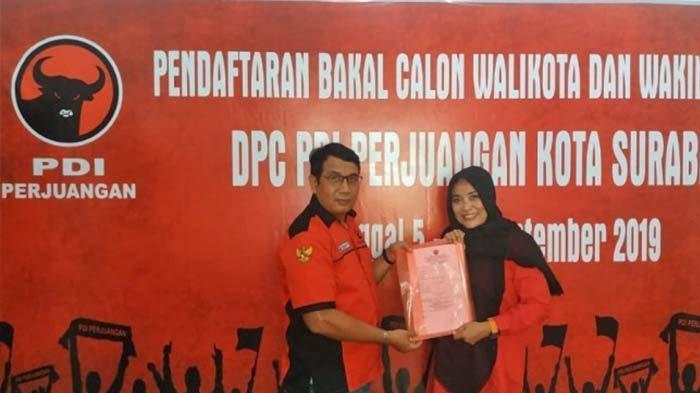 Breaking News - Istri Bambang DH, Dyah Katarina, Daftar Bacawali ke PDIP, 'Suami Sempat Larang'
