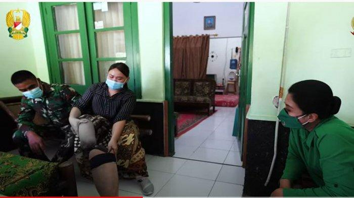Istri Jenderal Andika Perkasa Beri Bantuan Anggota Persit KCK yang Sakit, Ada yang Kehilangan Kaki