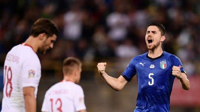 Hasil UEFA Nations League - Italia Selamat dari Kekalahan Atas Polandia Setelah Gol Penalti