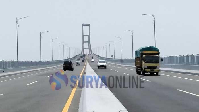 KABAR Jembatan Suramadu Ditutup karena Virus Corona, Benarkah? Ini Kata Kapolres Bangkalan