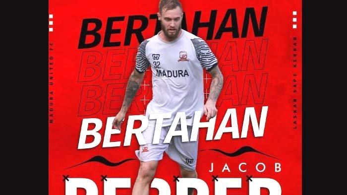 Madura United Resmikan Kontrak Satu Pemain Asing Asal Australia, Jacob Papper