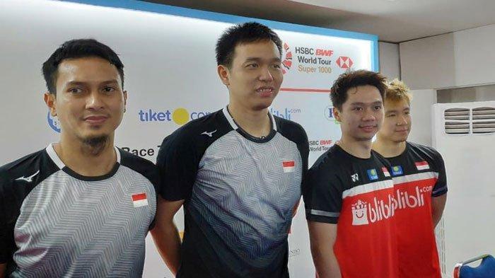 Jadwal Badminton China Open Hari ini Minggu 22 September 2019, The Minions Melawan Saudara Sendiri