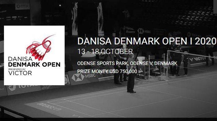 Jadwal Badminton Denmark Open Hari ini Selasa 13 Oktober 2020, Beserta Link Live Streaming TVRI