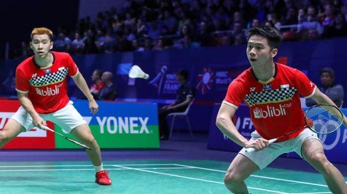 Jadwal Badminton French Open Hari ini Jumat 25 Oktober 2019, Ada The Minions hingga Jonatan Christie