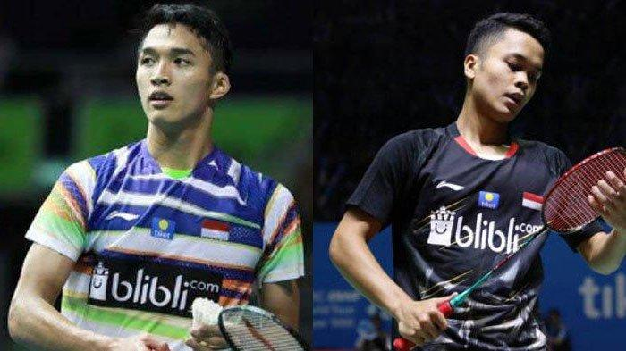 Jadwal Badminton All England 2021 dan Daftar Wakil Indonesia, Jojo dan Ginting Ketemu Kento Momota