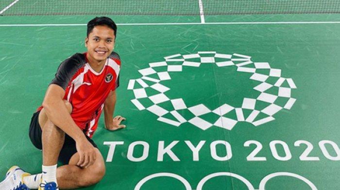 Jadwal Bulutangkis Olimpiade Tokyo 2020 Live TVRI dan Indosiar Minggu Pagi, Anthony Ginting Tampil