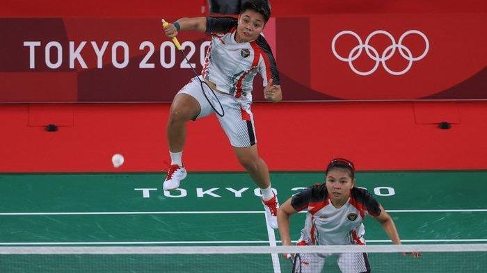 Jadwal Bulutangkis Olimpiade Tokyo 2020 Live TVRI & Indosiar Pagi Ini, Tantangan Greysia/Apriyani