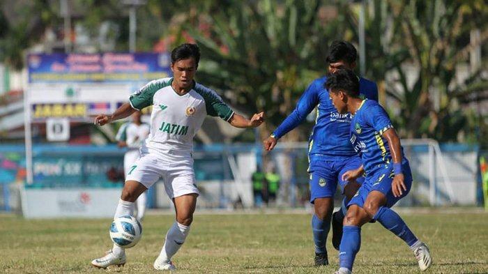 Tim Sepak Bola Jatim Turunkan Pemain Andalan Hadapi Aceh di Babak Semi Final