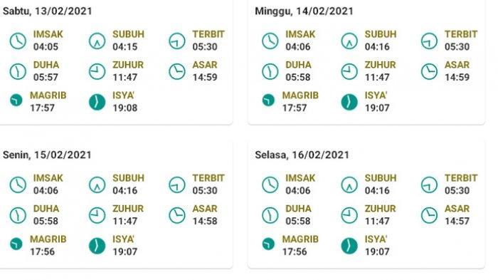 Jadwal Imsak Puasa Rajab Sabtu 13 Februari 2021 Surabaya dan Jakarta, Dilengkapi Niat Puasa
