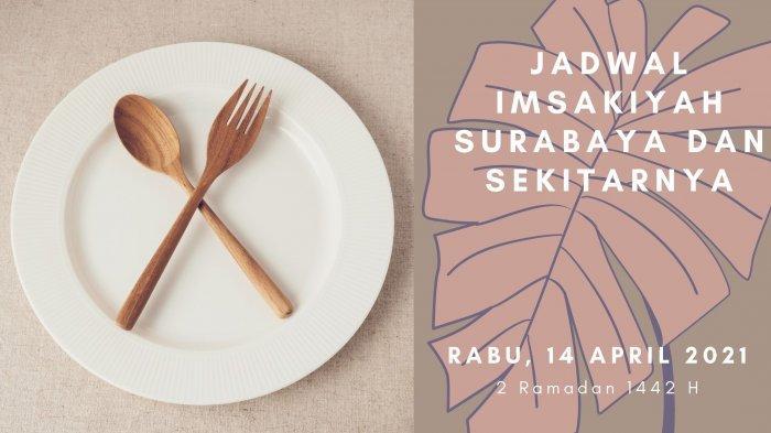 Jadwal Imsakiyah Surabaya, Sidoarjo dan Gresik, Rabu 14 April 2021: Manfaat Puasa Ramadan Hari Kedua