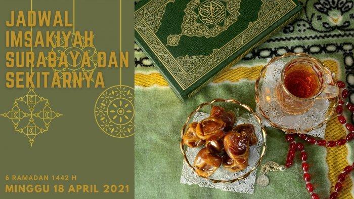 Jadwal Imsakiyah Surabaya, Sidoarjo, Gresik, Minggu 18 April 2021: Niat dan Tata Cara Shalat Tasbih