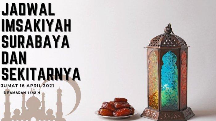 Jadwal Imsakiyah Surabaya, Sidoarjo dan Gresik, Jumat 16 April 2021: Niat & Tata Cara Shalat Taubat