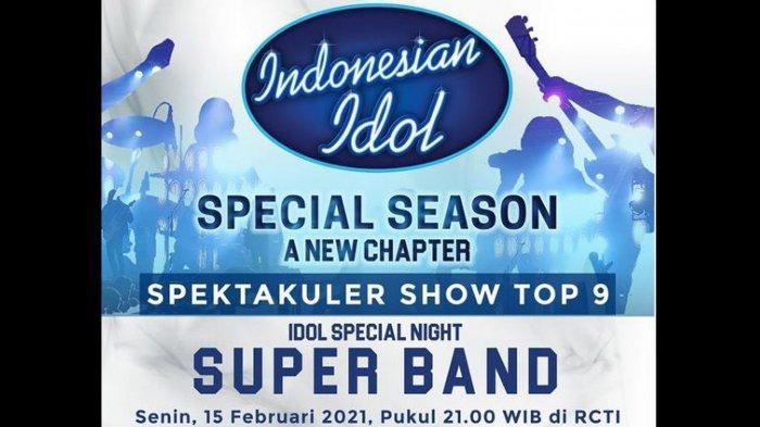 Jadwal Indonesian Idol 2021 Spektakuler Show 5 Senin 15 Februari, Prediksi Judul Lagu yang Dibawakan