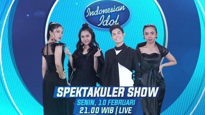Jadwal Indonesian Idol Spektakuler Show TOP 4, Ini Ulasan Suara Peserta & Prediksi Juara Versi Maia