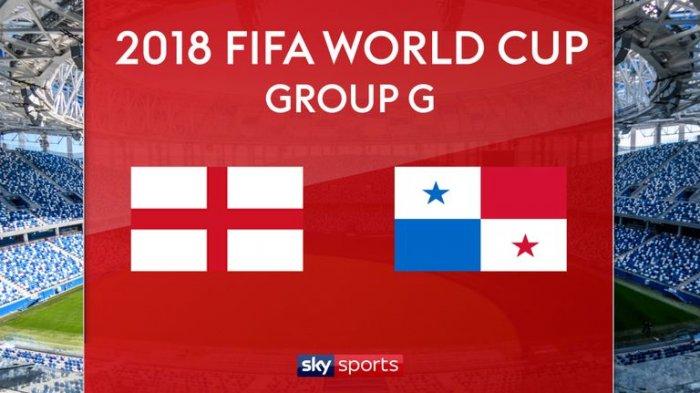 Jadwal Siaran Langsung dan Live Streaming Inggris vs Panama Malam ini 24 Juni di Trans TV