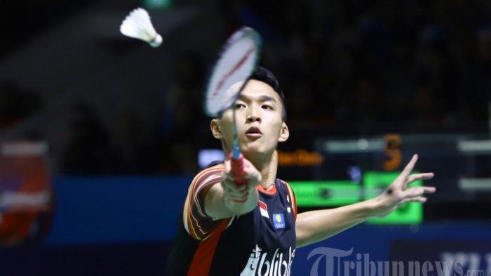Jonatan Christie Kalah di Korea Open 2019, Indonesia hanya Punya Dua Wakil di Babak Semifinal
