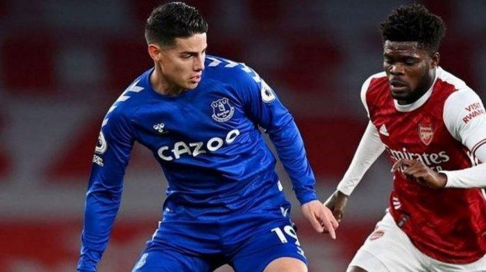 Jadwal Liga Inggris Malam Ini: Everton vs Burnley, James Rodriguez Masih Absen dan Kans Rondon Debut