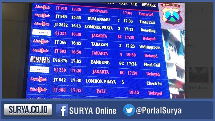Berikut Kronologi Yang Sebabkan Ribuan Penumpang Lion Air Tertahan Di Bandara Juanda Surya
