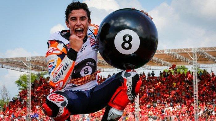 Jadwal MotoGP Sirkuit Motegi Jepang 2019, Marc Marquez Mustahil Tembus Rekor Ini meski Pasti Juara