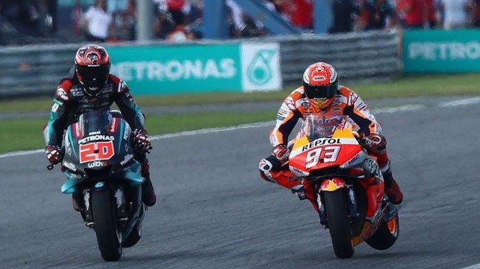 Jadwal MotoGP Sirkuit Sepang Malaysia 2019 Mulai Jumat 1 November, Fabio Quartararo Tampil Maksimal