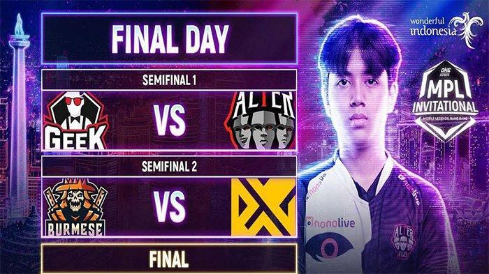 Jadwal MPL Invitational Hari Ini, Minggu 6 Desember: Alter Ego vs Geek Fam Berebut Tiket Grand Final