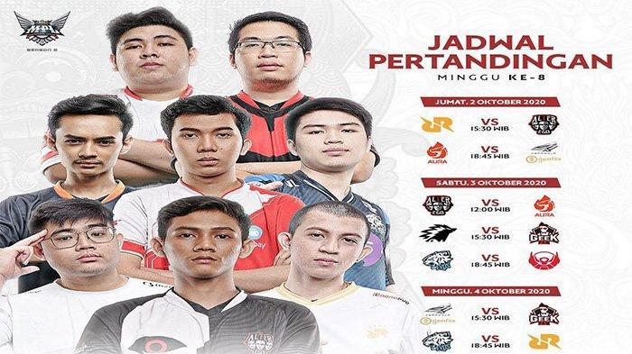 Jadwal MPL Season 6 Week 8: Hadapi Pekan Berat, RRQ Hoshi Punya Peluang Lolos Upper Bracket Playoff