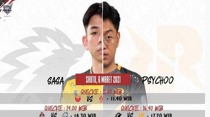 Jadwal MPL Season 7 Week 2: Sabtu 6 Maret 2021: The Royal Derby Onic vs RRQ Hoshi, Geek Tantang EVOS