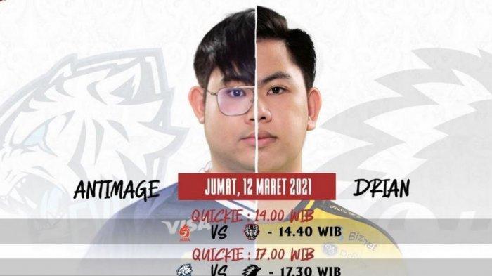 Jadwal MPL Season 7 Week 3: Jumat 12 Maret 2021, EVOS Legends vs Onic Esports, Aura Hadapi Alter Ego